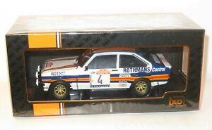 1/18 Ford Escort Mk2 RS1800 Rothmans  Rally Sanremo 1980 A.Vatanen / D.Richards