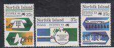 Norfolk Island 437-9 SYDPEX 88 Mint NH