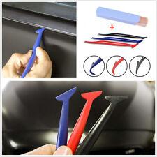3 Pcs Portable Car Wrap Application Tool Window Tint Squeegee Gasket Scraper Kit