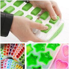 Bac à Glaçons Moule Silicone Gel Pouding Gelée Chocolat DIY Ice Cube Moisissures