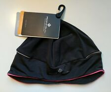 Ronhill Pro Beanie Thermal Running Hat One Size Black/Fluo Pink
