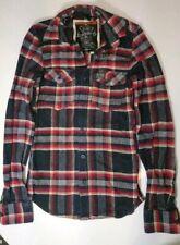 SUPERDRY - Red - Heavy Flannel Lumberjack Shirt - Men's S
