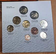 J Coin K23 Latvia 100 years 2018 Set 1 cent - 2 euro + Comemorative 2 euro