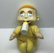 Vintage 1999 Rugrats Battery Operated Baby Dill Snooze & Surprise Doll