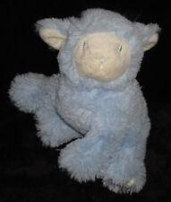 Doudou Mouton Agneau bleu et blanc Pédiatril Eau Avène 17 cm