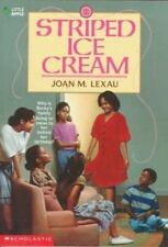Striped Ice Cream by Lexau, Joan M.