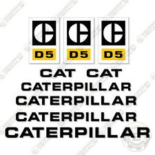 Caterpillar D5 Dozer Decal Kit Equipment Decals 1970's