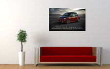 """FIAT ABARTH 595 TURISMO PRINT WALL POSTER PICTURE 33.1"""" x 20.7"""""""