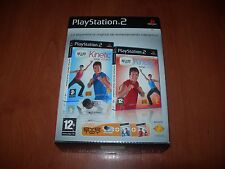 EYE TOY KINETIC TOTAL FITNESS + TOTAL COMBAT + CÁMARA PS2 (PAL ESPAÑA)