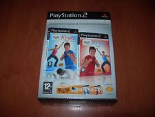 EYETOY KINETIC TOTAL FITNESS + TOTAL COMBAT + CÁMARA PS2 (PAL ESPAÑA)