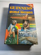 Guinness Book of World Records 1981 by Norris McWhirter (1980, Hardcover,...