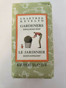 Crabtree & Evelyn Gardeners Exfoliating Soap 5.57 oz NEW IN PACKAGE