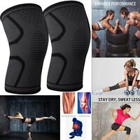 2 Pairs Magnetic Knee Support Brace Arthritis Pain Relief Gym Basketball Running