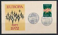 Briefmarken aus Europa mit Ersttagsbrief-Erhaltungszustand als Einzelmarke