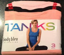 Femmes Body Bleu Tank/Débardeur Tops Idéal Pour Superposition-Taille L - 14 BN