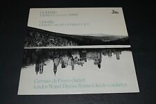 Copland Clarinet Concerto~Crusell Grand Concwerto~Bernard Jacob~FAST SHIPPING