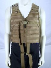 USMC Tactical Vest Green Molle II Load Carrier One Size
