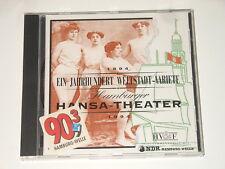 Hamburger Hansa-TEATRO-CD - 1894-1994 - un secolo mondo città-lunedì