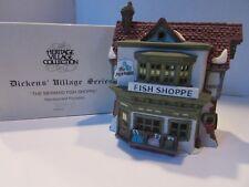 Dept 56 59269 The Mermaid Fish Shoppe Dickens Village Lighted Bldg W/Cord D10