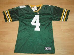 Green Bay Packers Brett Favre #4 1997 Home Original Starter Jersey Size Men's 52