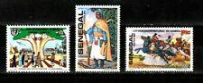NO RESERVE AUCTION!!  Senegal stamps #548 - 550, MHOG, VVF, 1981