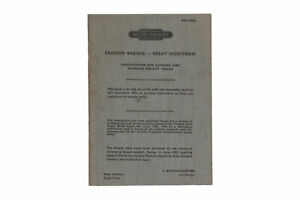 British Railways 1962 Instructions for loading and working freight trains bookle