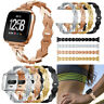 Stylish Smart Watch Bands Strap Alloy Metal Bracelet Wrist Band For Fitbit VERSA