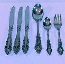 New listing Reed & Barton - Mirrorstele Royal Majesty Flatware Silverware Cutlery Qty 6
