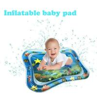 Inflatable Water Play Mat Infant Fun Tummy Time Kids Baby Play Activity Center.