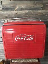 Vintage Coca-Cola Cooler Ice Chest Coke Cooler