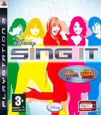 Videogame Disney - SING IT PS3