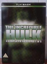 THE INCREDIBLE HULK TV series complete seasons 1 & 2 / 10 DVD discs NEW