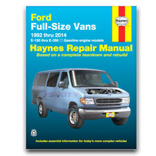 Haynes Repair Manual for 1992-1998 Ford E-350 Econoline - Shop Service ox