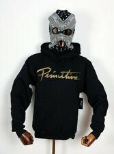 Primitive Skate Skateboards Hooded Hoodie Sweater Sweatshirt Nuevo Script in M