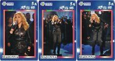 Madonna 3 telefoonkaarten/télécartes  (Ma7-3c)