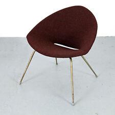 Mid Century Modern Easy Chair w Kvadrat 50s 60s   Danish Modern Sessel 50er 60er