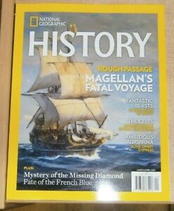 National Geographic History magazine Mar/Apr 2021 Magellan's fatal voyage & more