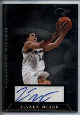 JaVale McGee Auto 2011 Panini Black Box #31 /149 Mint Wizards
