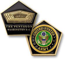 U.S. Army / Pentagon - Brass Challenge Coin