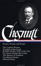 Charles W. Chesnutt  Stories, Novels, & Essays 1st/1st Library of America FINE