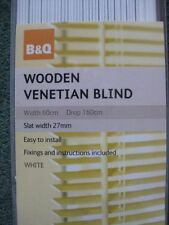 B&Q Wooden Curtains & Blinds
