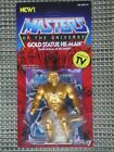 Masters Of The Universe Gold Statue He-Man Action Figure Super 7 Vintage Series For Sale