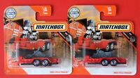 MATCHBOX 2020  2 Varianten  CYCLE TRAILER  CHOPPER + Motorrad  99/100