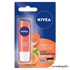 Nivea Fruity Shine Peach Moisturizing Tinted Lip Balm 4.8g New