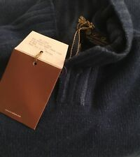 Loro Piana Men's Airie Baby Cashmere Light Sweater Sz. 52 Retail $2,125.00 Best!