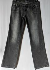 "WOMEN'S JEANS ROXY STRAIGHT 100% COTTON SIZE 10/28 LEG 32"" LIKE NEW FREE POSTAGE"
