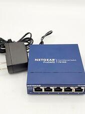 NETGEAR FS105 Fast Ethernet Network Switch