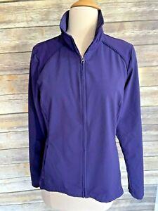 Womens COLUMBIA  Anytime Full Zip Casual Jacket Dark Purple M