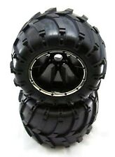 Redcat MT (4) Wide Tread Bead Locks Emaxx And Hpi Savage Adapters included