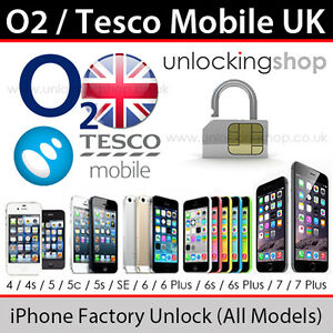 Tesco Mobile UK iPhone Factory Unlocking Service (All Models Supported)